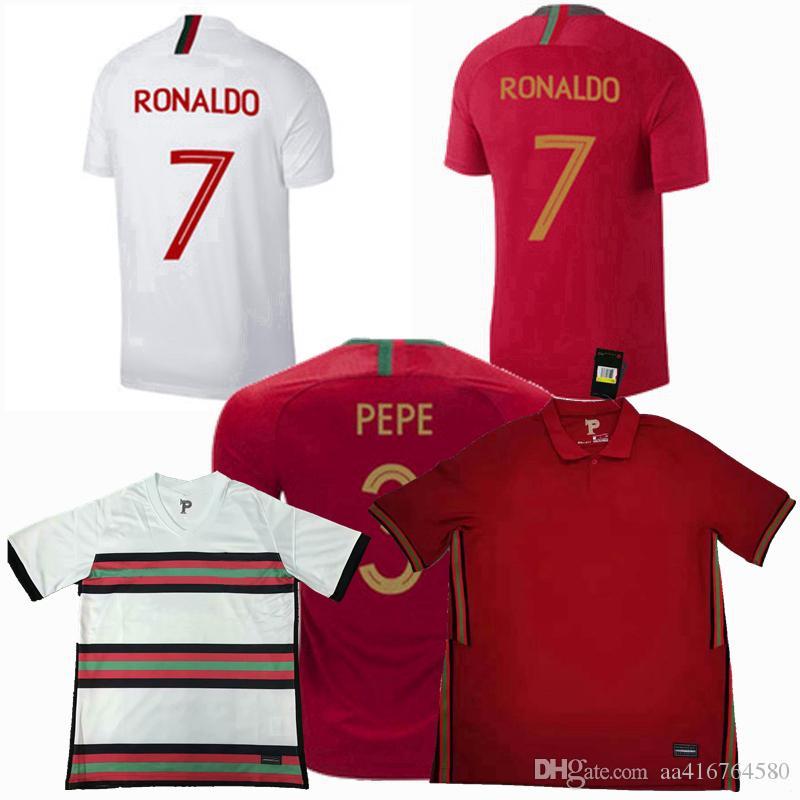 20 21 Portuga Fussball Jersey Ronaldo Bernardo 2019 2020 2021 Fußballmänner Frauen und Kinder Jungen Sporthemd