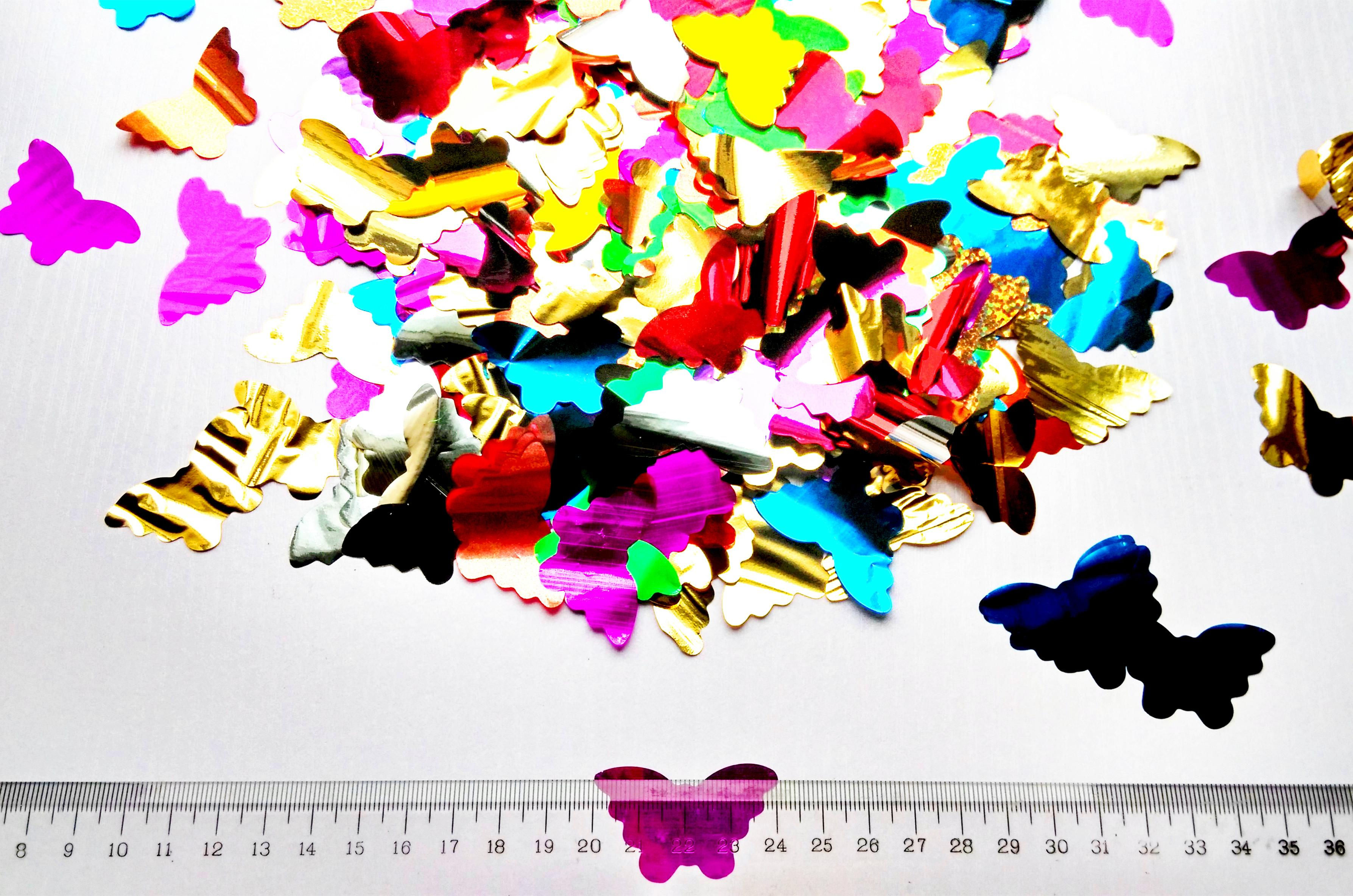 FFS 10g foil Heart confetti petals for Wedding Party Table Decoration birthday party