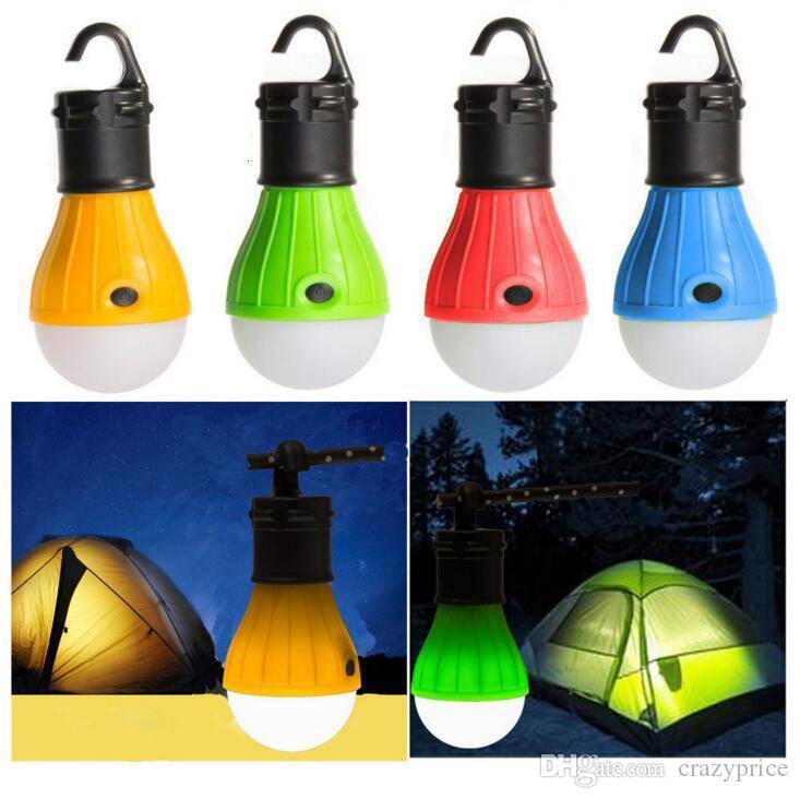 مصغرة المصابيح المحمولة خيمة ضوء LED لمبة مصباح الطوارئ المعلقة ماء هوك مصباح يدوي للتخييم أثاث اكسسوارات YSY289-L