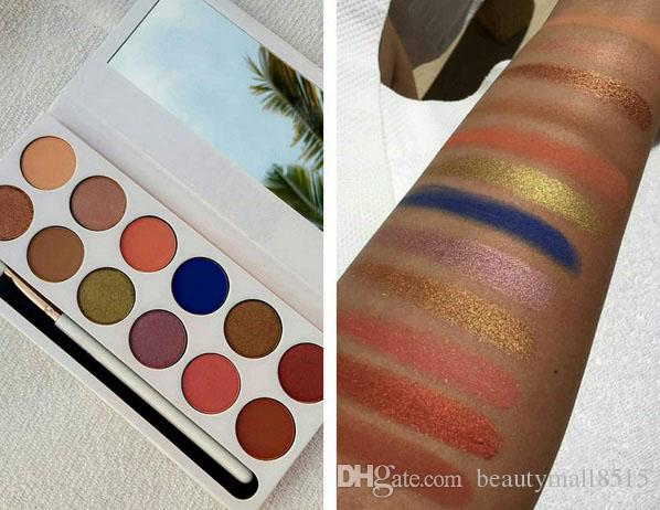 Maquillaje de ojos de Navidad caliente The Royal Peach Eye Shadow Paleta 12 Sombras Natural Matttenude Sombra de ojos Polvo pigmentado Paletas Envío gratis