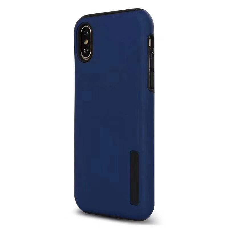 Cubierta de la caja protectora de doble capa mate para LG teléfono Q7 V40 Q6 primer K40 Stylo 5 4 G7 K8 K10 2018 Shell a prueba de golpes