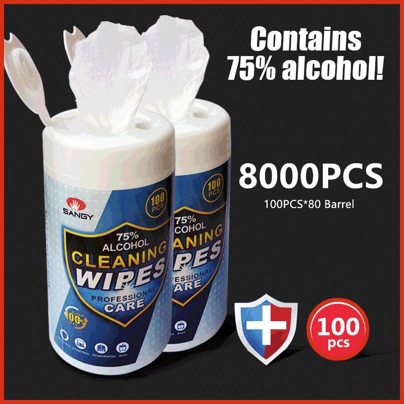 8000PCS disinfecting wipe baby Alcohol wipe lots lysol spray colorx wipes hand sanitizer colorx wipes babies disinfectant wipes