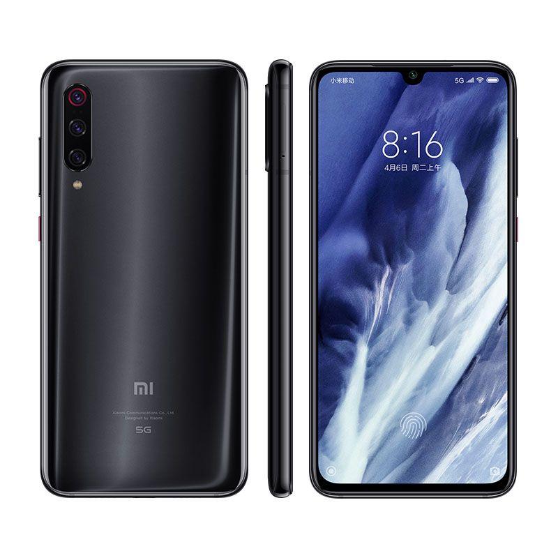 """الأصلي xiaomi mi 9 mi9 pro 5g الهاتف المحمول 8GB RAM 128GB 256GB ROM Snapdragon 855 Plus 48.0MP AI NFC Android 6.39 """"AMOLED ملء الشاشة بصمة الهاتف"""