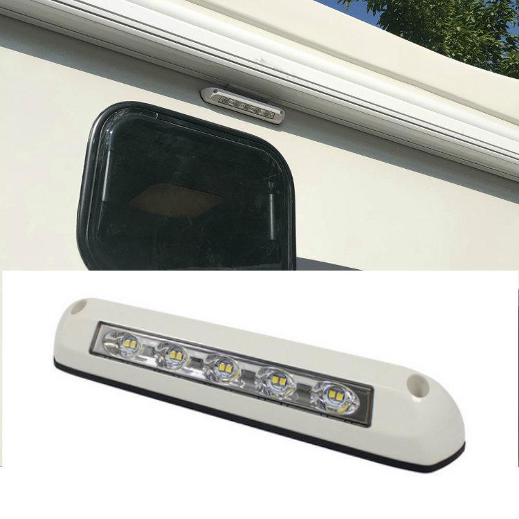 12V LED Awning Lamp Waterproof Exterior Lamps Light Bar for Motorhome Caravan RV Van Camper