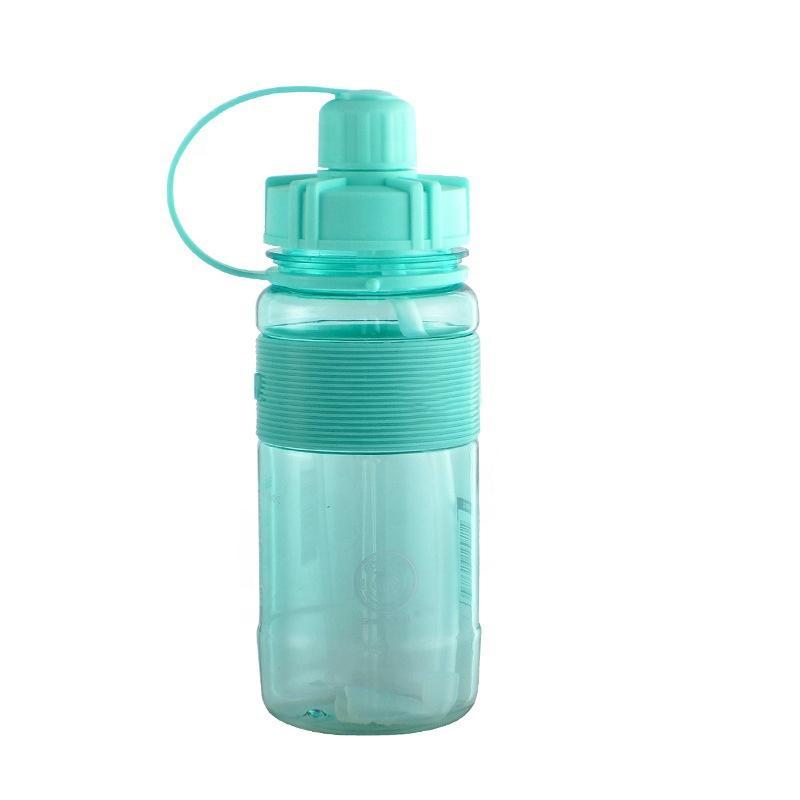 Yeni Stil Spor Çocuk Su Şişesi Plastik Özelleştirilmiş Taşınabilir Kupası ile Straw, seçtiğiniz için 20 oz 4 Renkler