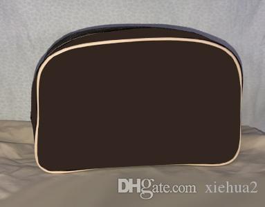 زهرة بنية حقيبة أدوات النظافة / أدوات النظافة 25 M47527 أو حقيبة القطن ، العميل المعين المنتج