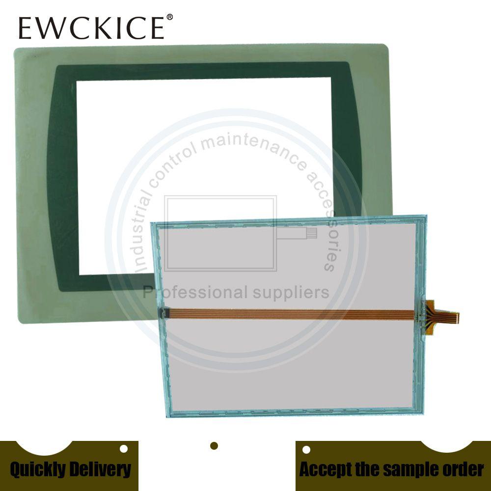 Original NEW Panelview Plus 700 2711P-T7C22A9P-B 2711P-T7C22D9P-B PLC HMI Industrie-TouchScreen und Frontetikett Film