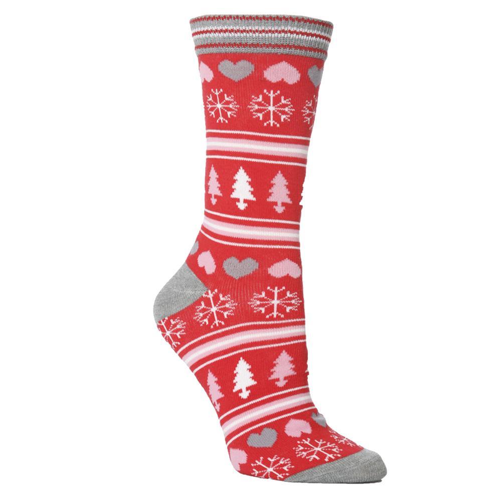 1 Paar Socken Festliche Breath Stretchy für Weihnachtsfest-Frauen-Mann-Winter TY53