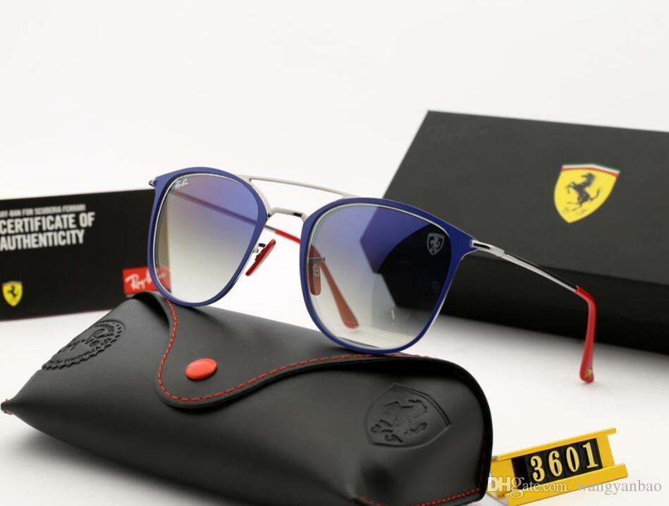 Nuevas 2019 gafas de sol de conducción para hombres y mujeres gafas de sol de sombra con lentes de vidrio templado