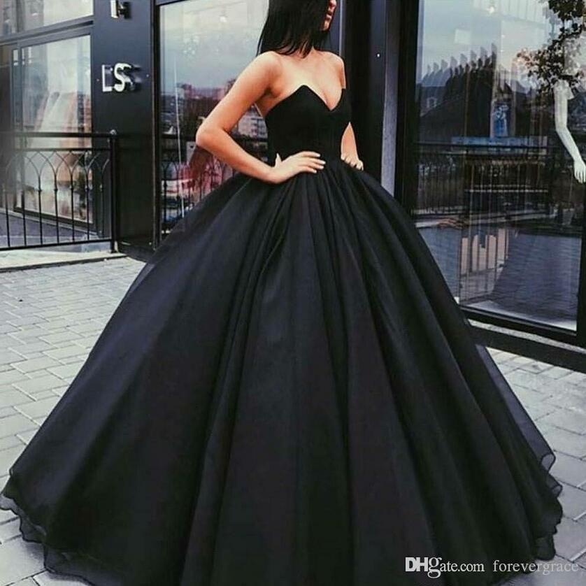 2019 Cheap Stunning Long Prom Dress Sexy Sweetheart Masquerade Formal Holidays Wear Graduation Evening Party Gown Custom Made Plus Size