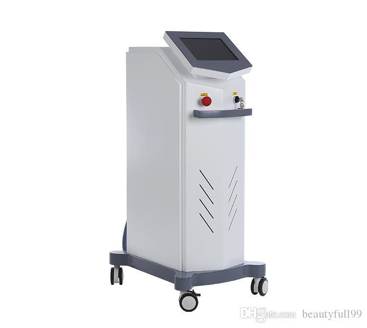 Prpfessional machine de beauté diode laser de serrage épilation 808nm peau 755 + 808 + 1064 longueur d'onde mixte machine à diode laser