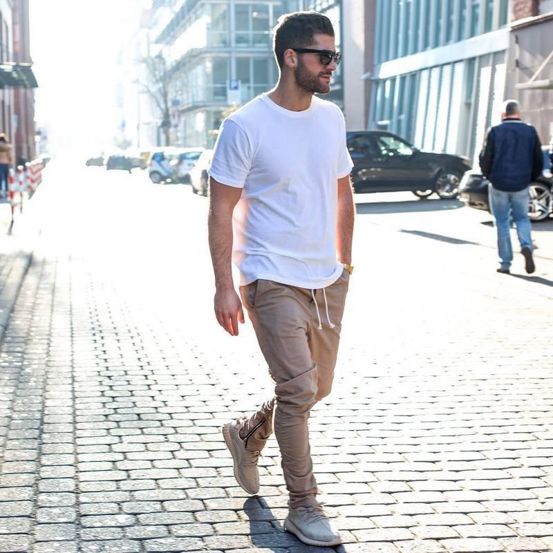 Pantaloni hip-hop alla moda-kaki / neri / verdi coreani con cerniere Connessione di fabbrica Abbigliamento urbano da uomo Pantaloni da jogging Fear of god Pantaloni da uomo
