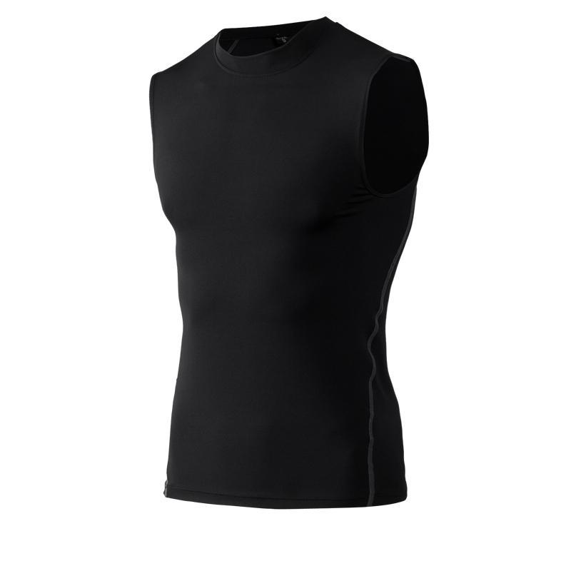 2020 Chaleco Nuevos deportes superior de los hombres de mangas de compresión Gimnasio camisa de los hombres del chaleco de la tapa del verano Gym Fitness Ciclismo Running chalecos