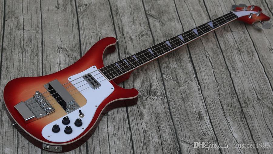 Продвижение, пользовательские Рик 4 строки вишня 4003 электрический бас-гитара