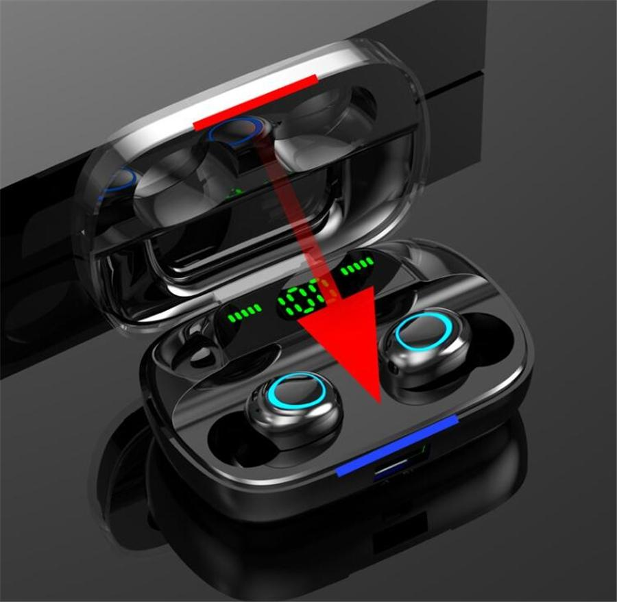 Best I11 Tws Wireless Bluetooth Headphones Earbuds Ture Stereo 5.0 Touch With Charging Box Earphones #OU284