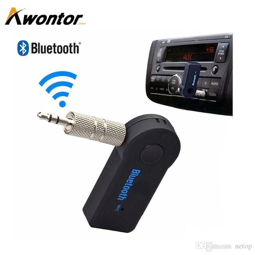 Wholesale Bluetooth Tool A2DP AUX Audio for Car usage Bluetooth Receiver for palying music phone call handfree Free DHL