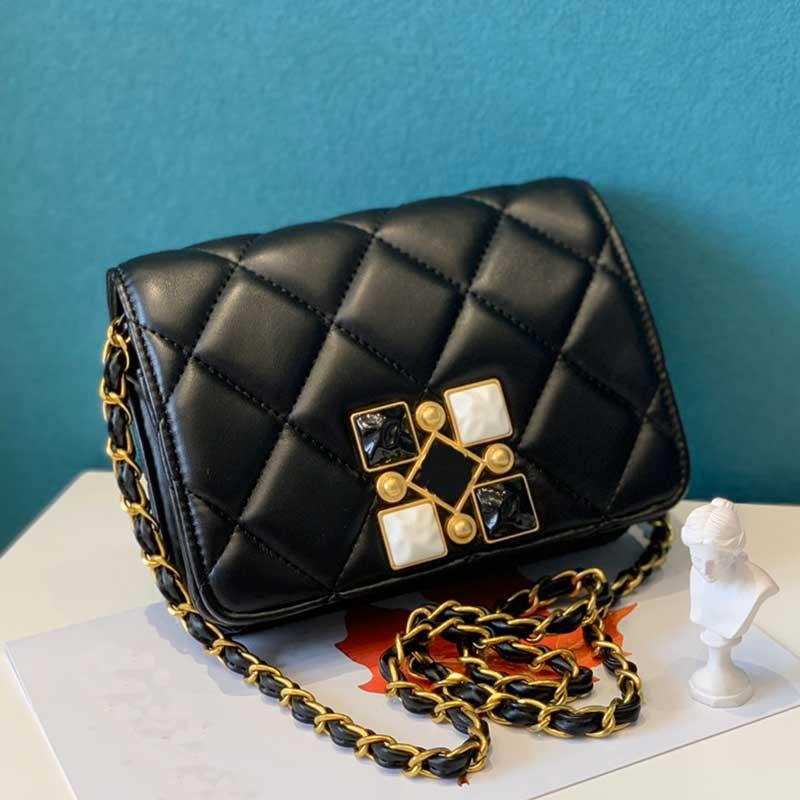 Mode Umhängetasche Frauen Umhängetasche Handtasche Clutch Bag Messenger Bag Regenbogen Handtasche der Dame Wallet Lambskin Taschen