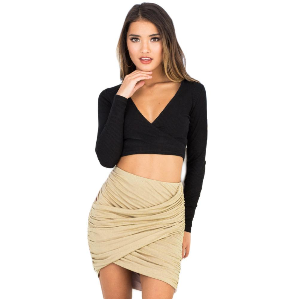 La MazZa Sexy Ruched Night Club Women Micro Mini Skirt Dinner Sexy Short Skirt Vintage Summer Pole Dance Stripper Clothes