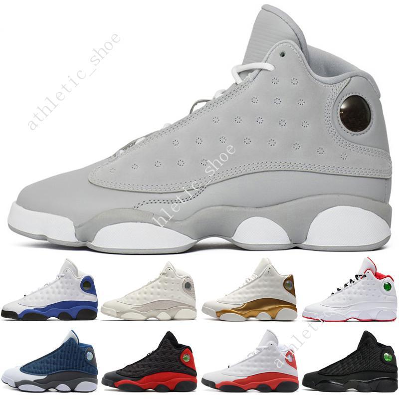 Hommes 13 13s Chaussures de basket-ball Phantom Chicago 3M GS Hyper Royale Noir Flints Chat de race Brown hommes blé baskets sport femmes formateurs Hyperspac
