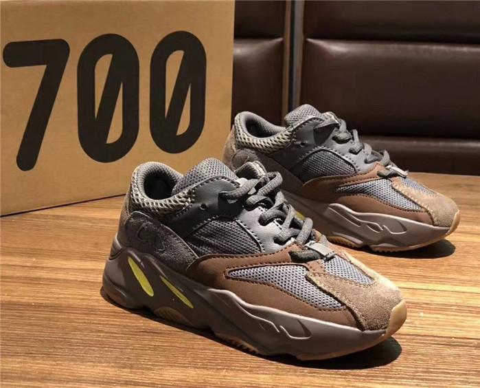 Acheter Adidas Yeezy Boost Shoes 2019 Infant 700 Wave Runner Mauve Enfants Enfant Chaussures De Course Big Boy Fille Tout Petit Baskets Jeunesse