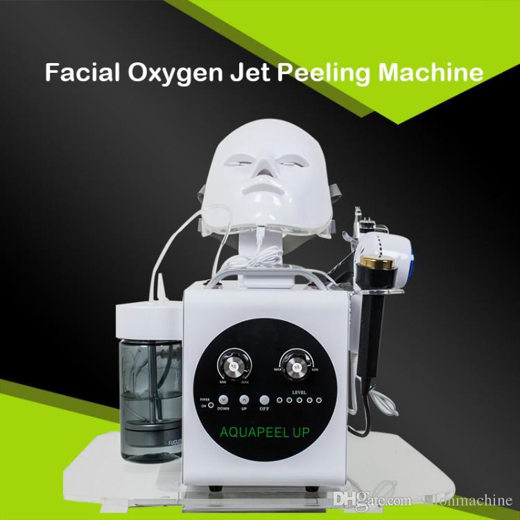 اللوازم الطبية تقشير الجلد الرطب آلة الأكسجين حقن الجمال أجهزة صالون ل moisturizin الوجه الجلد مسام آلة التنظيف