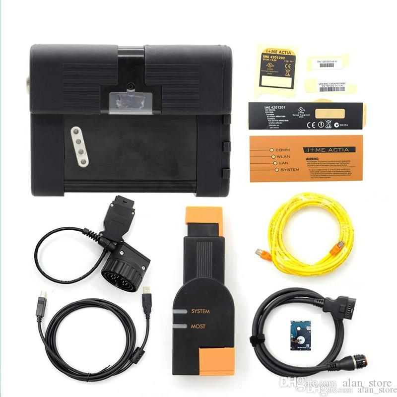 2019.03 Top quality professional for BMW icom A2 auto scanner for BMW icom A2+B+C 3 in 1 diagnostic & programmer with soft-ware HDD