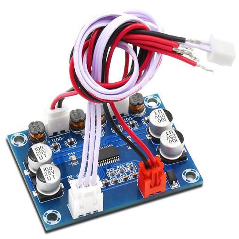 3pcs/lot 30W+30W Game machine audio amplifier board module full connector design digital power amplifier board DC12-24V XH-A234