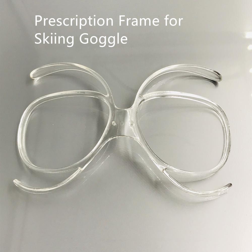 Cadre de prescription pour le ski Goggle TR90 flexible Bendable Lunettes de ski Rx Insert adaptateur optique Taille universelle Cadre intérieur