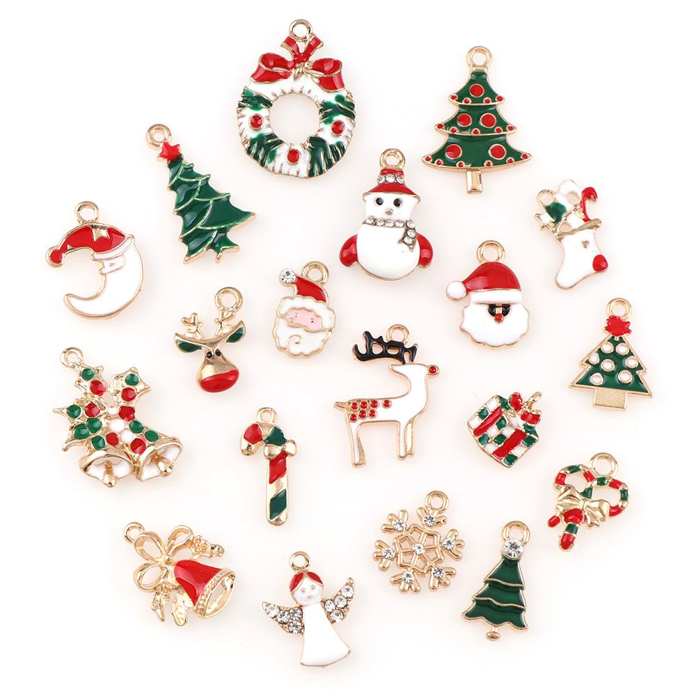 Gifts Jewellery Pendants Xmas Hanging Metal Alloy Christmas Tree Decoration