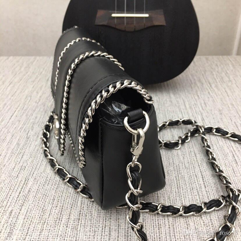 9914 Qualitätsmarkenschultertasche Designer Handtasche luxurys Handtasche Frau Modekette Druckbeutelmappe Telefonbeutel freies Verschiffen