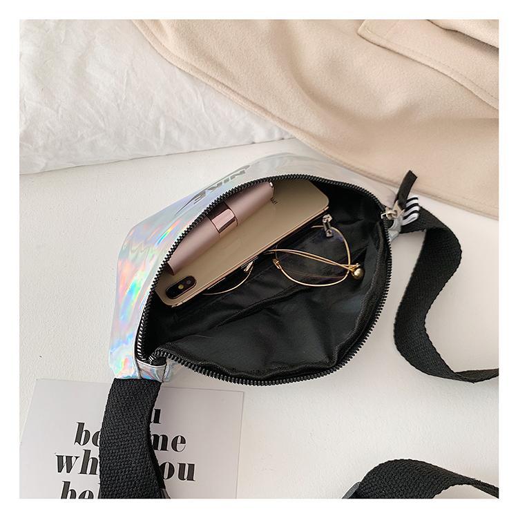 Nouvelle tendance unisexe de luxe Sac à bandoulière Femmes Marque Hommes Crossbody Sac de taille de mode 2 couleurs Adolescent 6 Styles extérieur Xaa B104985Z