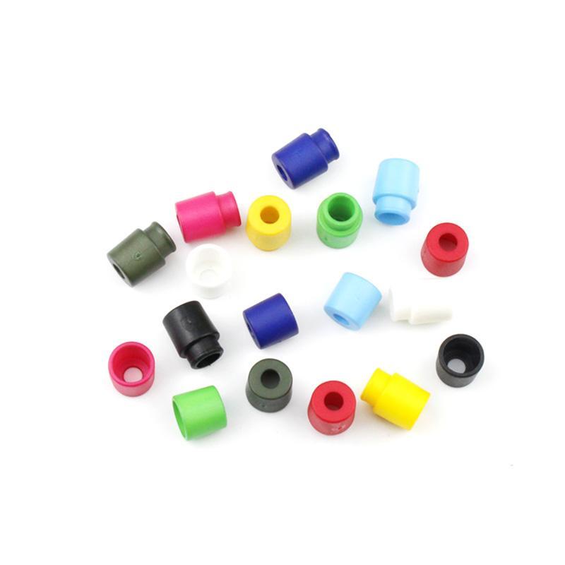 500pcs / pack colorido Fivelas de plástico Breakaway Segurança Pop Barrel Connector Fecho Colar ParacordRibbon Lanyards