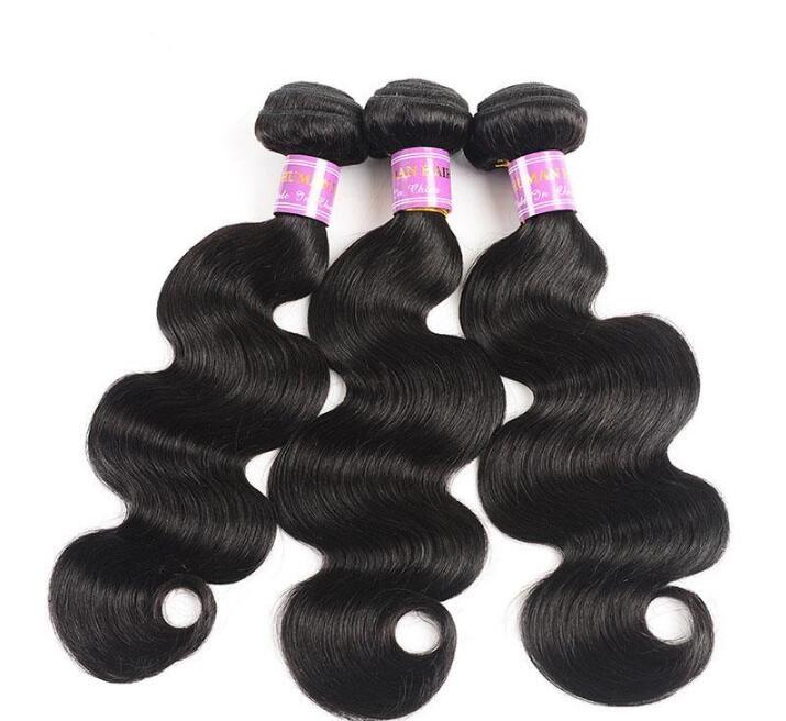 Brazilian virgin human hair weaves bundles body wave 8 -30 inch 100% unprocessed drop shipping wigs