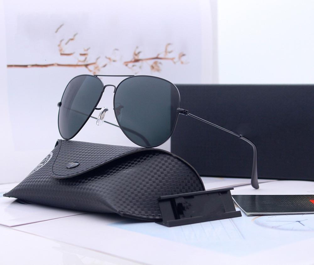 Aluminium Vintage 2020 polarisants Hommes Lunettes de soleil classique Marque Des lunettes de soleil Traitement des lentilles de conduite Lunettes pour les hommes / femmes