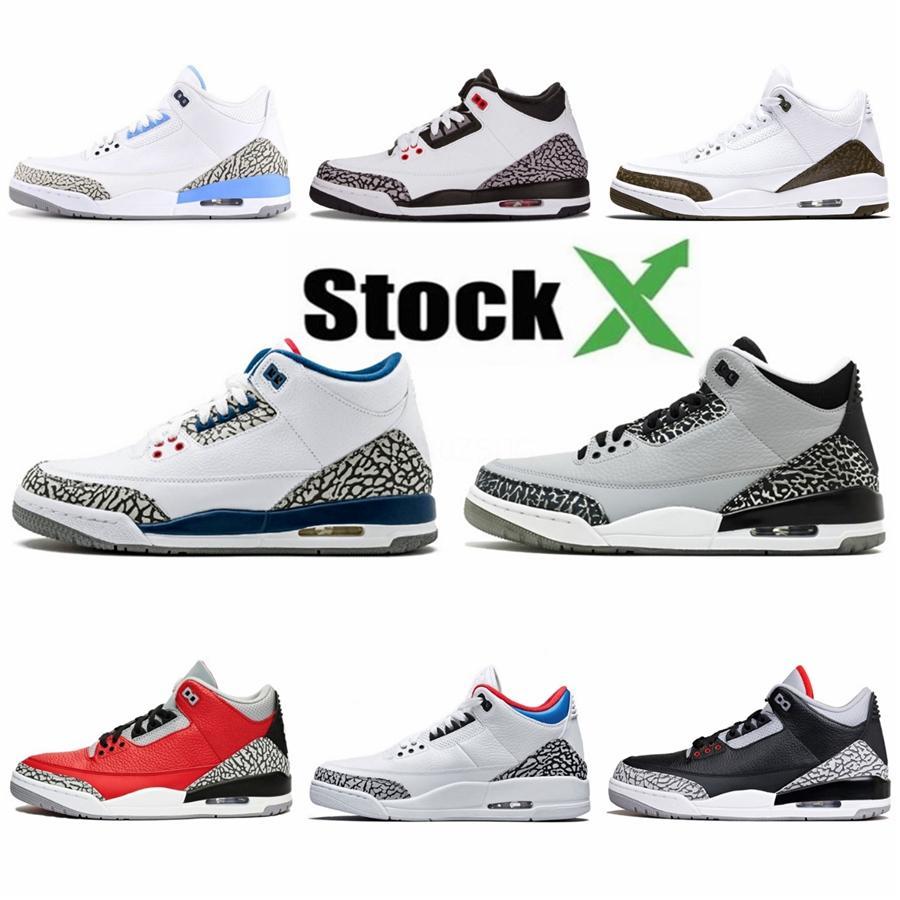 2020 New Cactus Jack Travis Houston Bleu 3 3S Hommes Basketball Chaussures de sport de haute qualité Marque Sneakers 308497-406 Livraison gratuite avec la boîte # 973