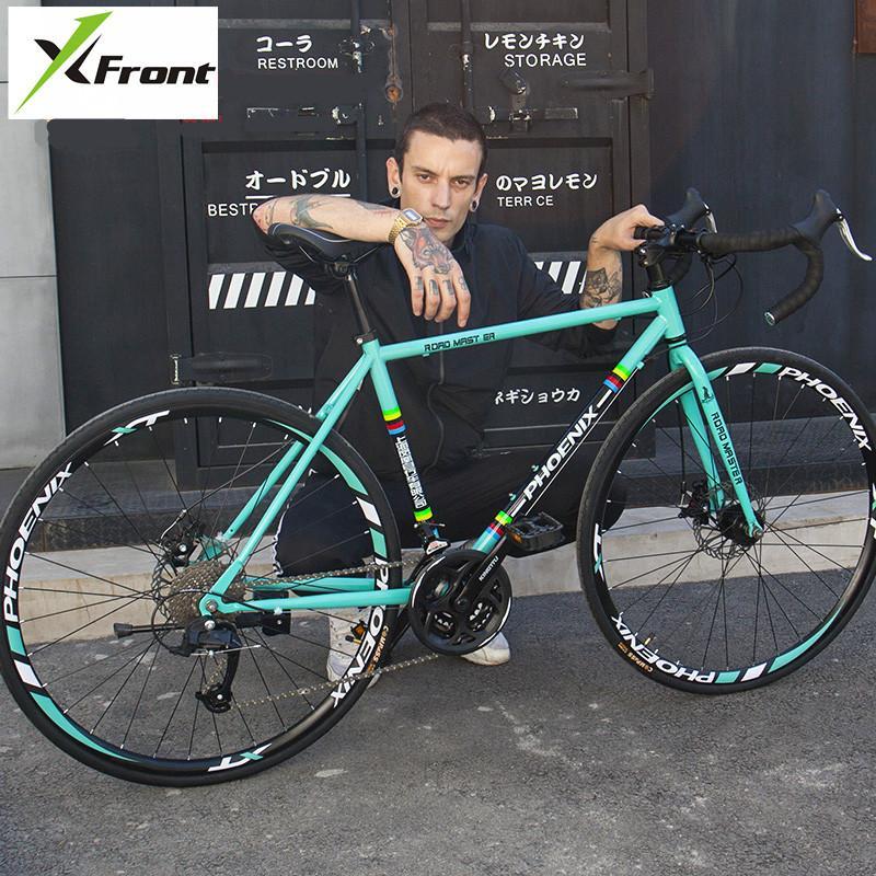 الإطار الجديد طريق العلامة التجارية دراجة الكربون الصلب 21/27 سرعة Microshift / SHIMAN0 التحول الدراجات الرياضة في الهواء الطلق Bicicleta