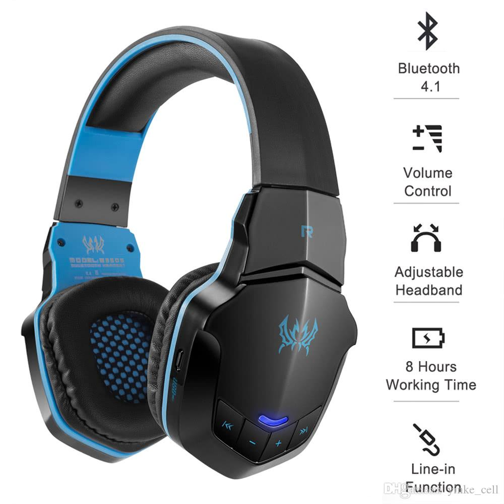 Bluetooth Gaming Headphone Wireless Headset With Microphone Foldable Headband Headphones Stereo Gamer Earphone For Computer Pc Laptop Tablet Best Noise Cancelling Headphones Wireless Headphones For Tv From Yinke Cell 21 16 Dhgate Com