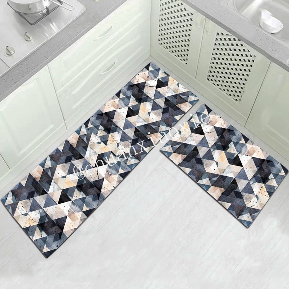 Chuanxiaoxie кухня ковер коврик европейский стиль простой Грязеустойчивый бытовой длинный коврик Коврик прикроватная ванная комната Нескользящий коврик дверной коврик