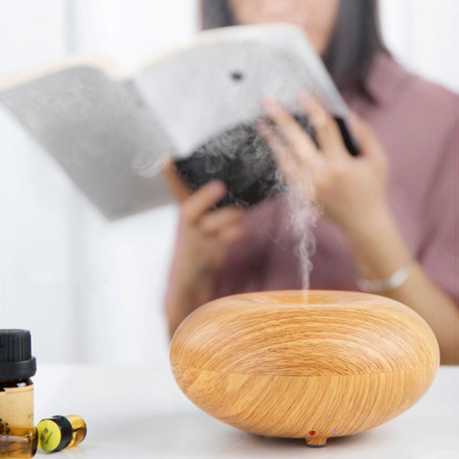 7 цветов сменный светодиодный ночник эфирное масло диффузор аромат эфирное масло диффузор ультразвуковой увлажнитель воздуха холодный туман VT1143
