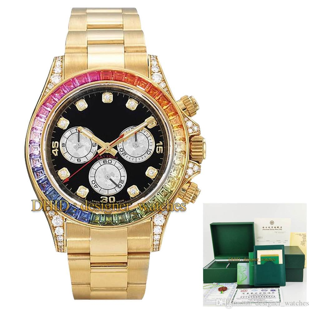 41mm Mens Watch Automatic Mechanical No Chronograph Fancy Diamond Bezel Mineral Crystal Glass 316 Stainless Steel Case Luxury Watch With box