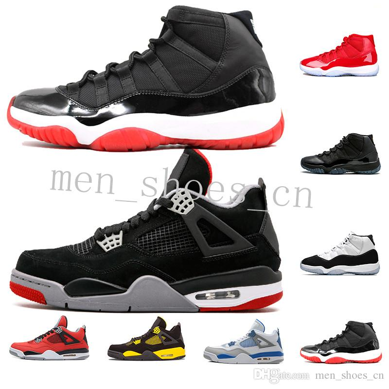 Stock X 11 Bred 2019 Mens Basketball Shoes Metallic Silver WMNS 11s Loyal Blue 4s What The 4 Men Women Sports Sneakers 36 47 Sixty Youth Basketball