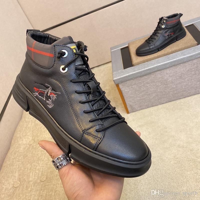 B6 Mode casual Chaussures hommes, de haute qualité confortable Designer Luxe Chaussures Hommes, élégant Sneakers, Emballage d'origine Zapatos Hombre