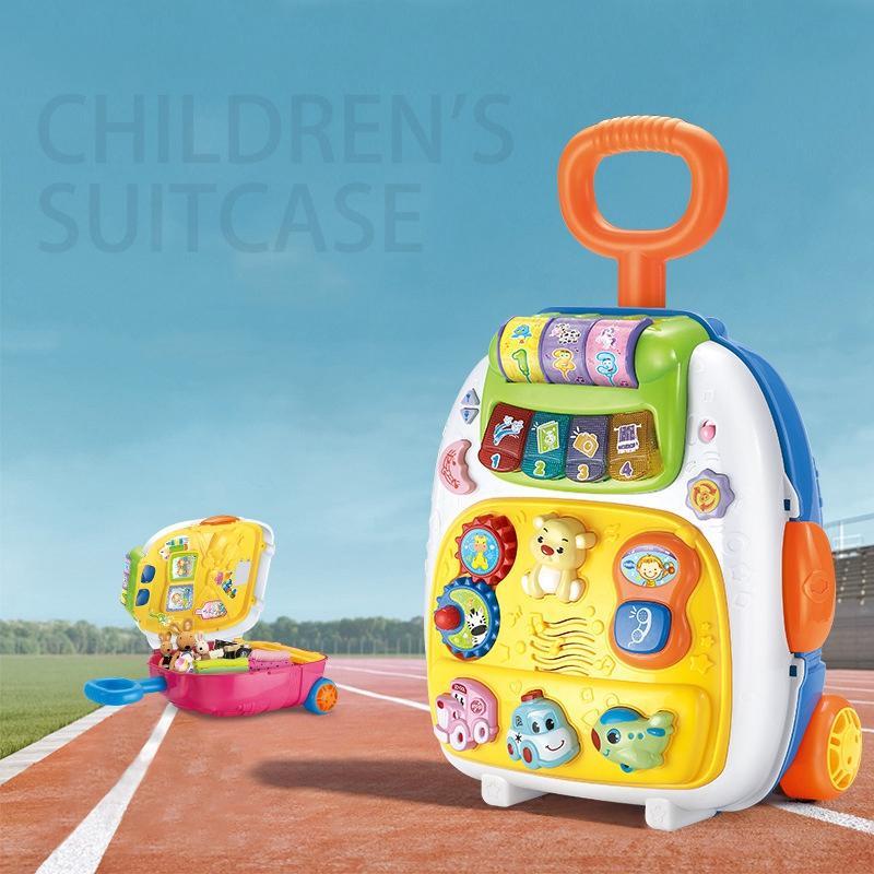 Filhos de Mala leve Backpack Mala de transporte Roda de bagagem