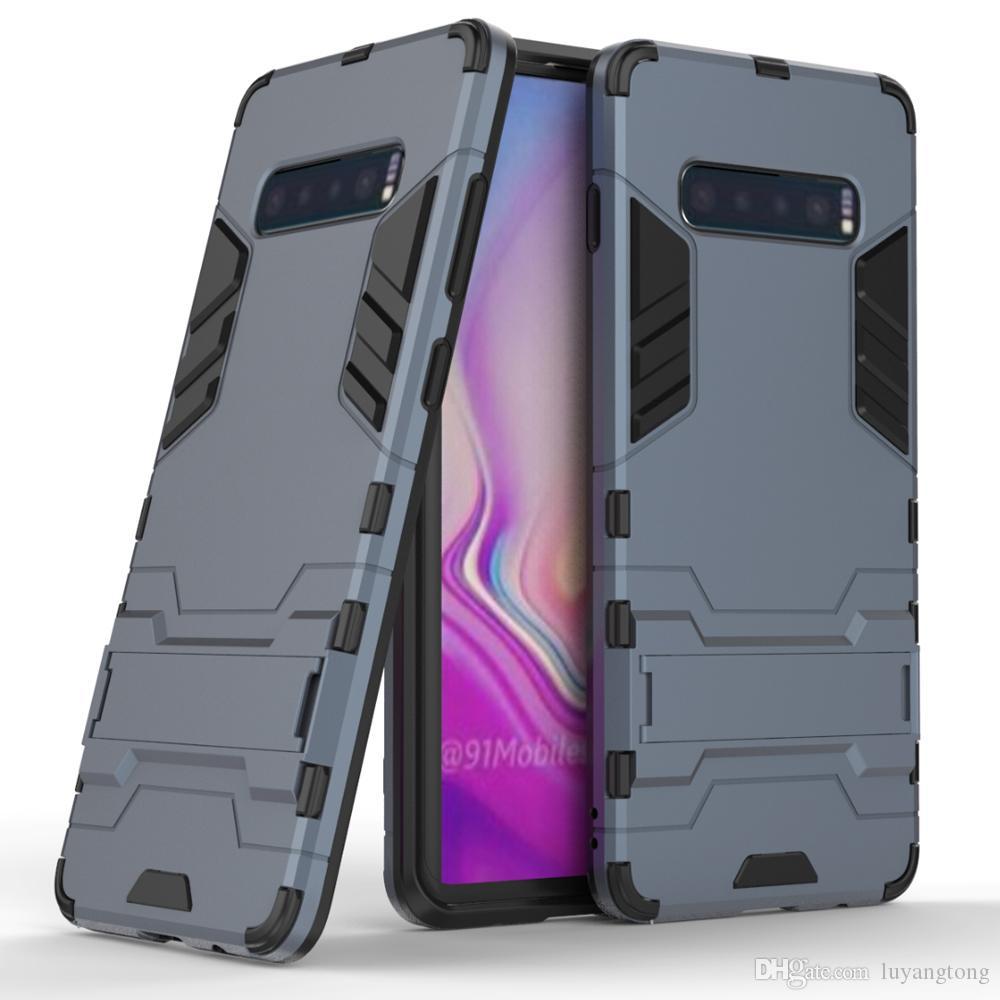 3d armadura capa para samsung galaxy s10 lite case s10 + tampa à prova de choque para samsung s10 plus s10e silicone phone case capa s 10