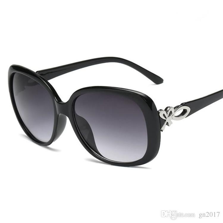 Gafas gafas elegantes gafas de sol gafas diseñador lentes arco marca sol mujeres moda anti-uv sombrero espejo A ++ GKGXC