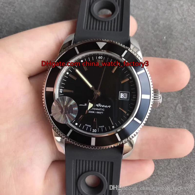 3 Style Top Quality 46mm Super Ocean Heritage 60 YEARS OF ADVENTURE AND DISCOVERY Asia ETA 2824-2 Movement Automatic Mens Watch Watches