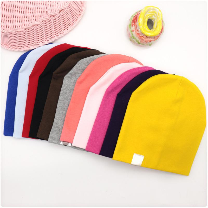 6M-3Y Baby Street Dance Hip Hop Hat Cotton Spring Autumn Toddler Cap Scarf for Boys Girls Winter Warm Solid Color Children Hat