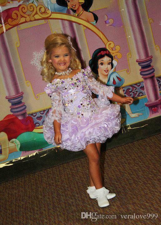 에덴 우드 라벤더 소녀 미인 대회 드레스 빈티지 파티 컵케익 가운 꽃 소녀 예쁜 드레스