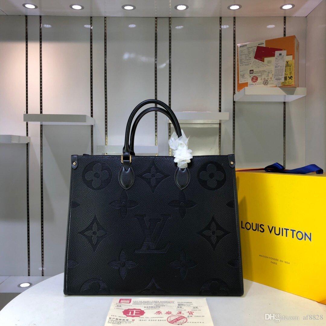 2020 новая роскошная дизайнерская сумочка из кожи и холста роскошная дизайнерская сумочка с модным принтом M44571 X127