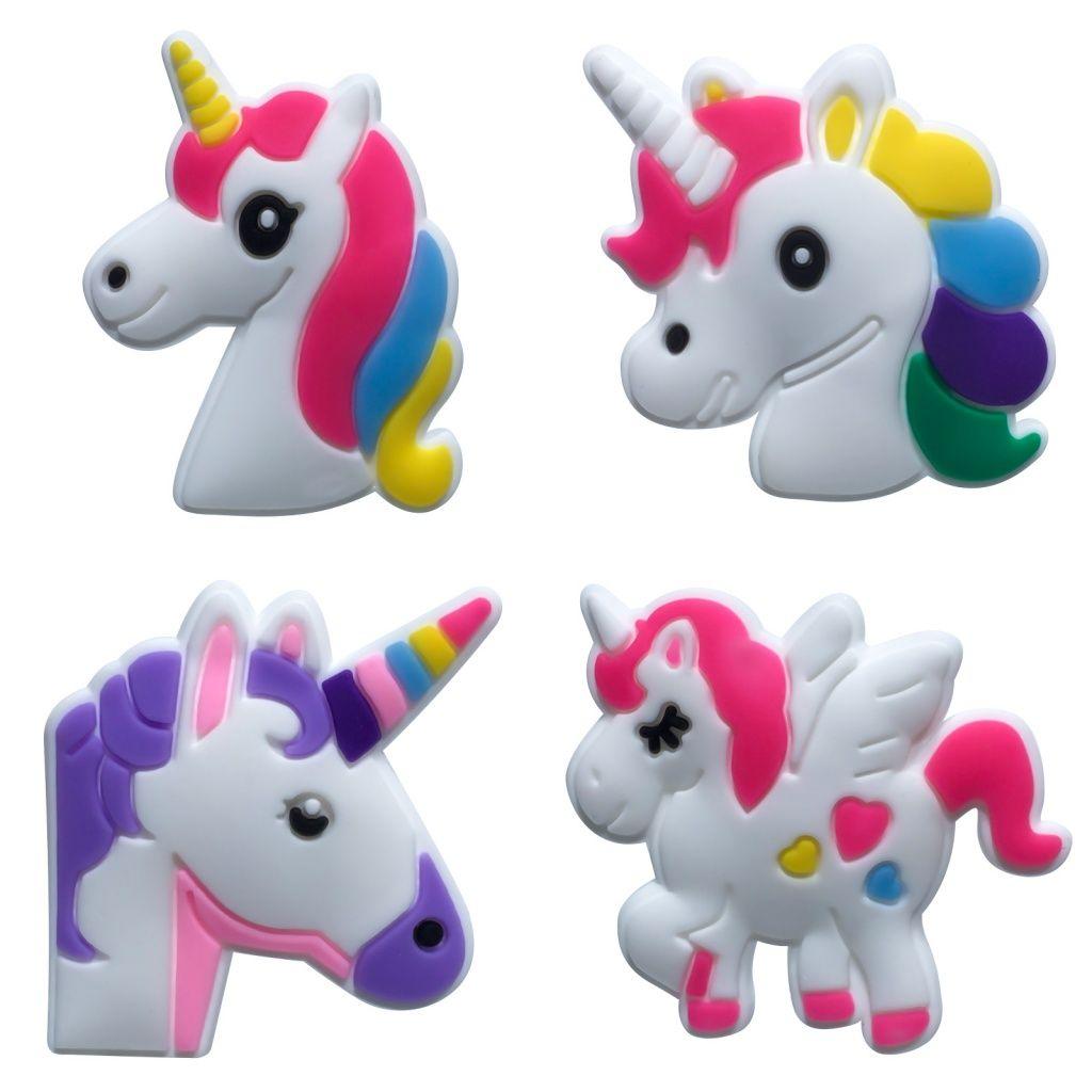 Unicorn PVC Imã de geladeira Bonito Criativo Dos Desenhos Animados Decoração de Casa Ímãs de Geladeira Blackboard Adesivos Presentes para Crianças Frete Grátis